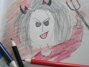 angry woman 002
